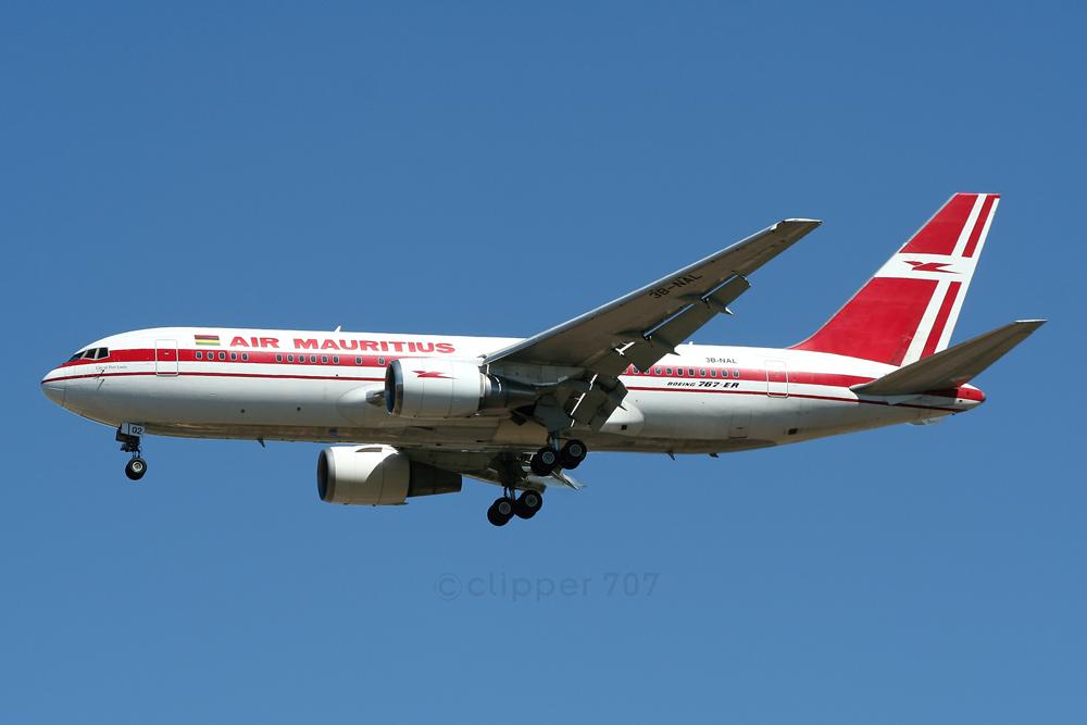 3B-NAL Air Mauritius 767-23B-ER