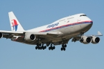 9M-MRP Malaysian Airlines Boeing 747-400