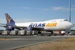 Atlas Air Cargo Boeing 747-200F N809MC
