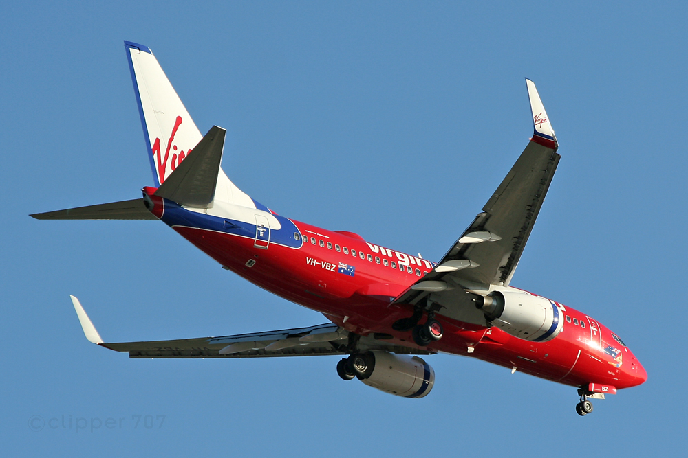 VH-VBZ Virgin Blue Boeing 737-7FE  7545