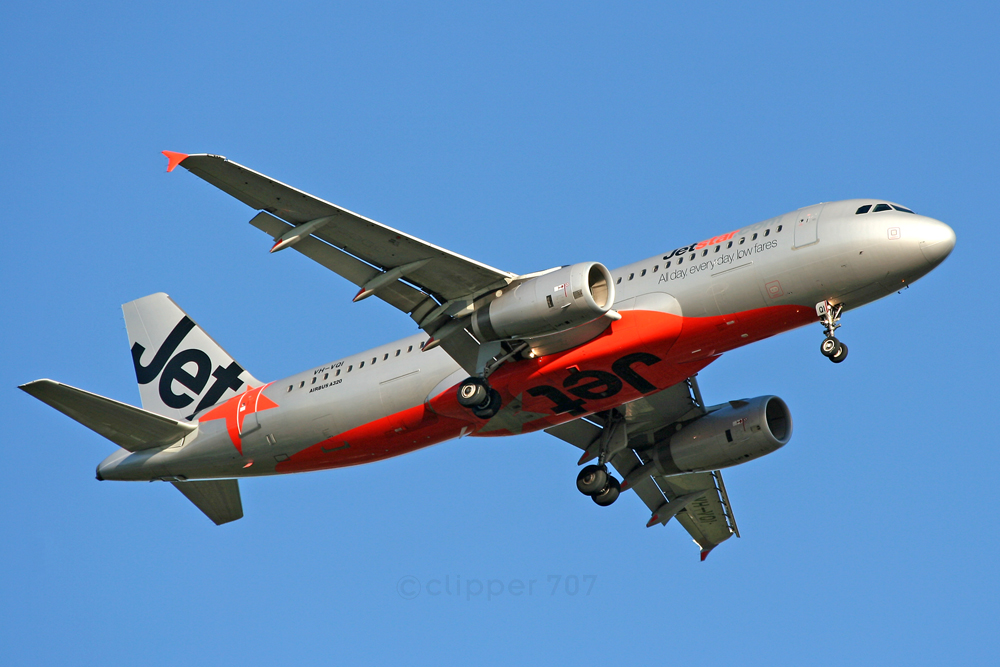 VH-VQI Jetstar Airbus A320-232 7520