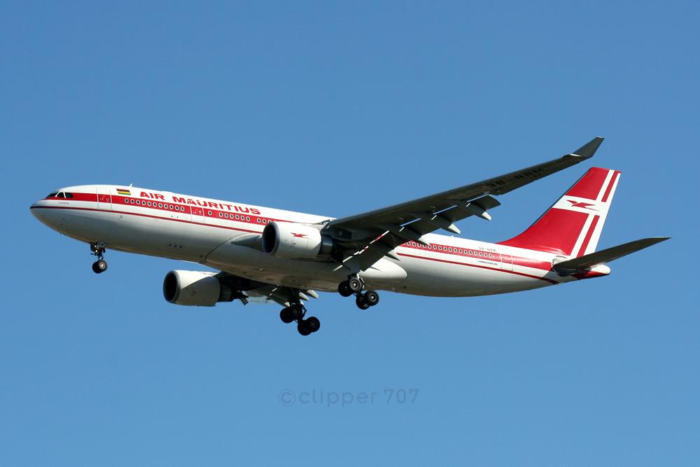 3B-NBM Air Mauritius A300-200