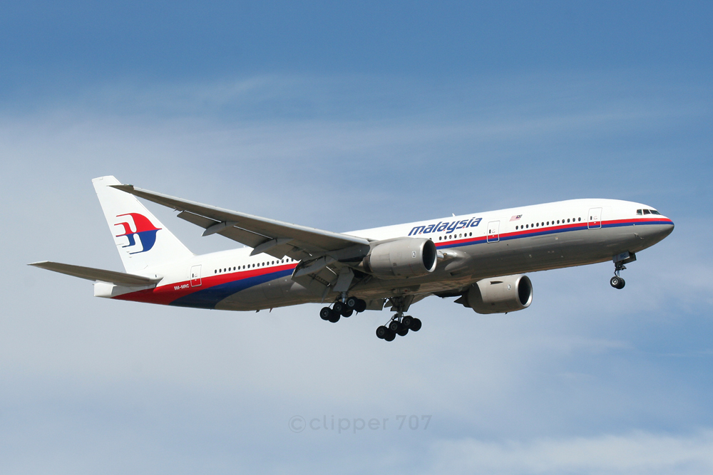 9M-MRC Malaysian Airlines Boeing 777-2H6-ER  4258
