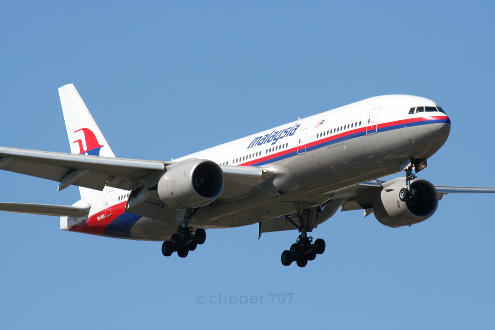 9M-MRC Malaysia Airlines Boeing 777-2H6-ER 5903