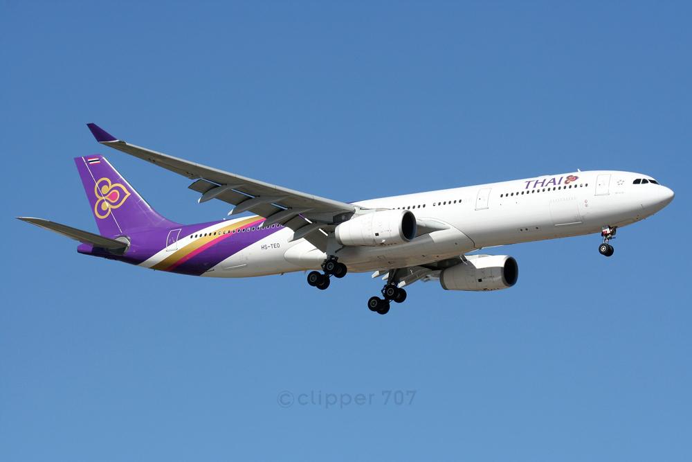 HS-TEO Thai Airways Airbus A330--343X 5993