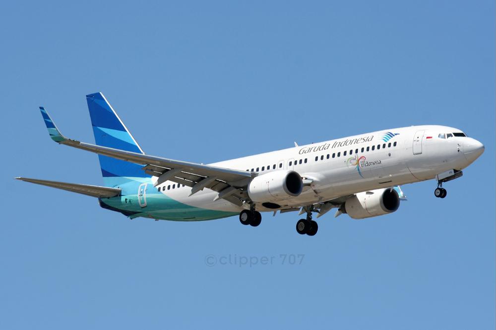 PK-GFD Garuda Indonesia Boeing 737-8UF 5746