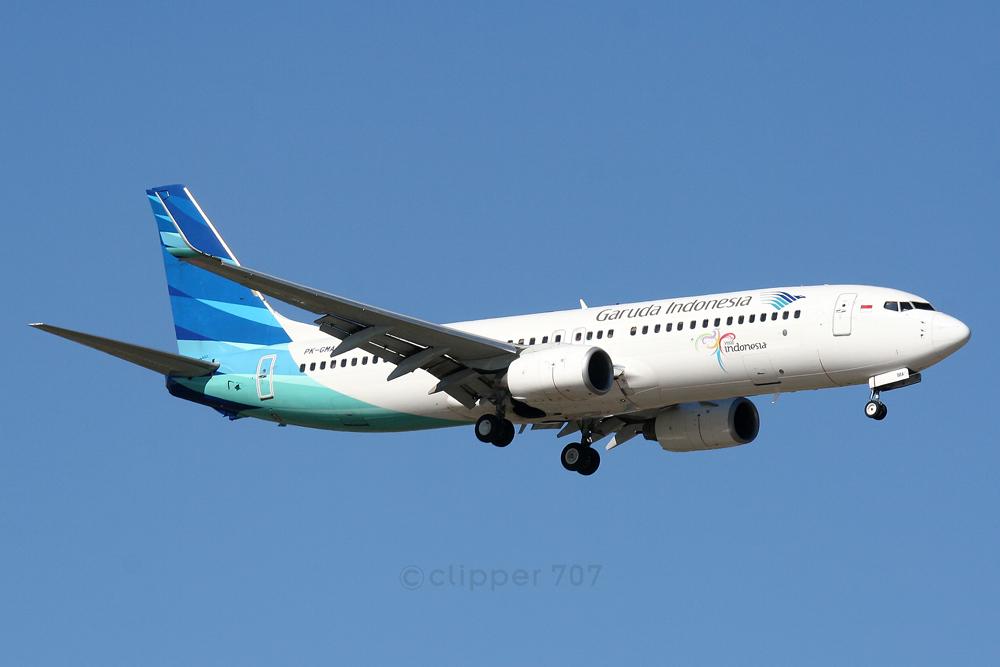 PK-GMA Garuda Indonesia Boeing 737-8U3 6080