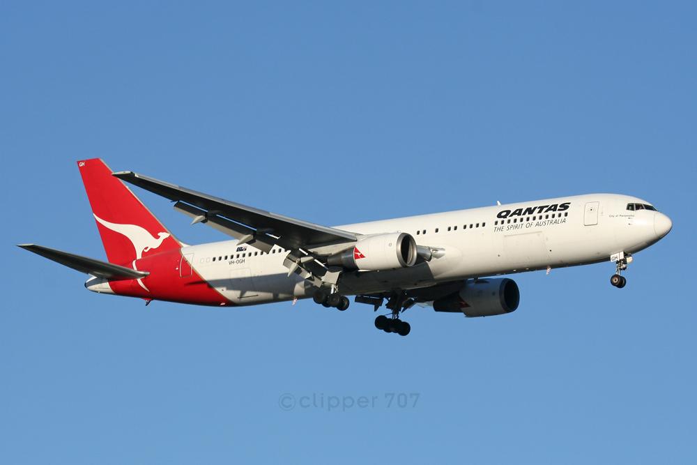 VH-OGH QANTAS Boeing 767-338ER 6386