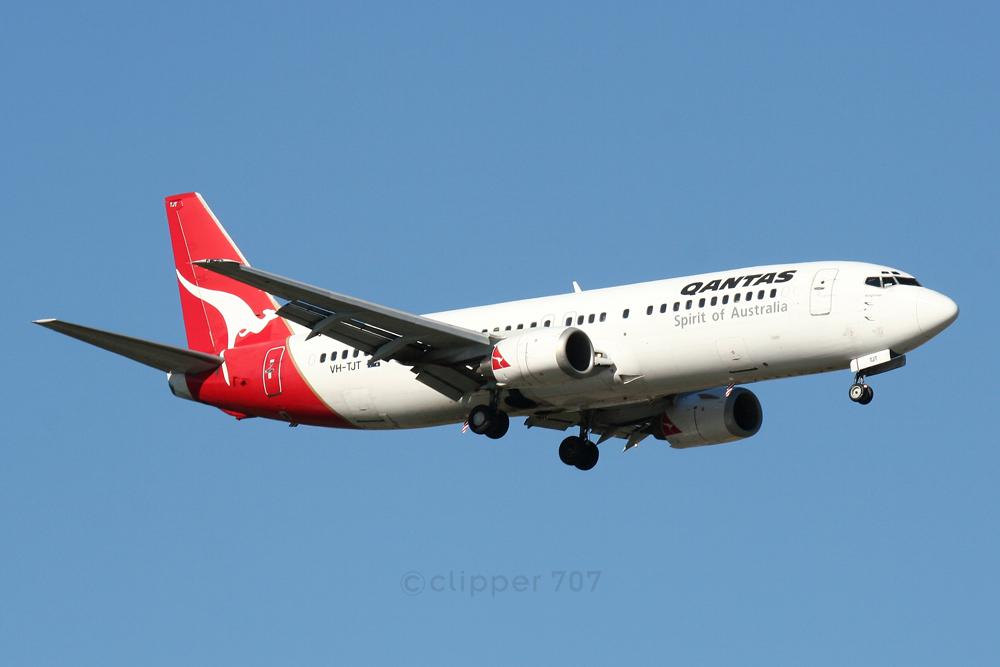 VH-TJT QANTAS Boeing 737-476 6159