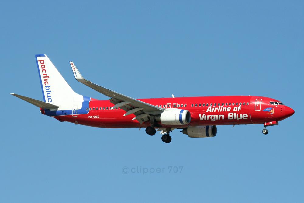 VH-VOX Pacific Blue Boeing 737-8BK 5948