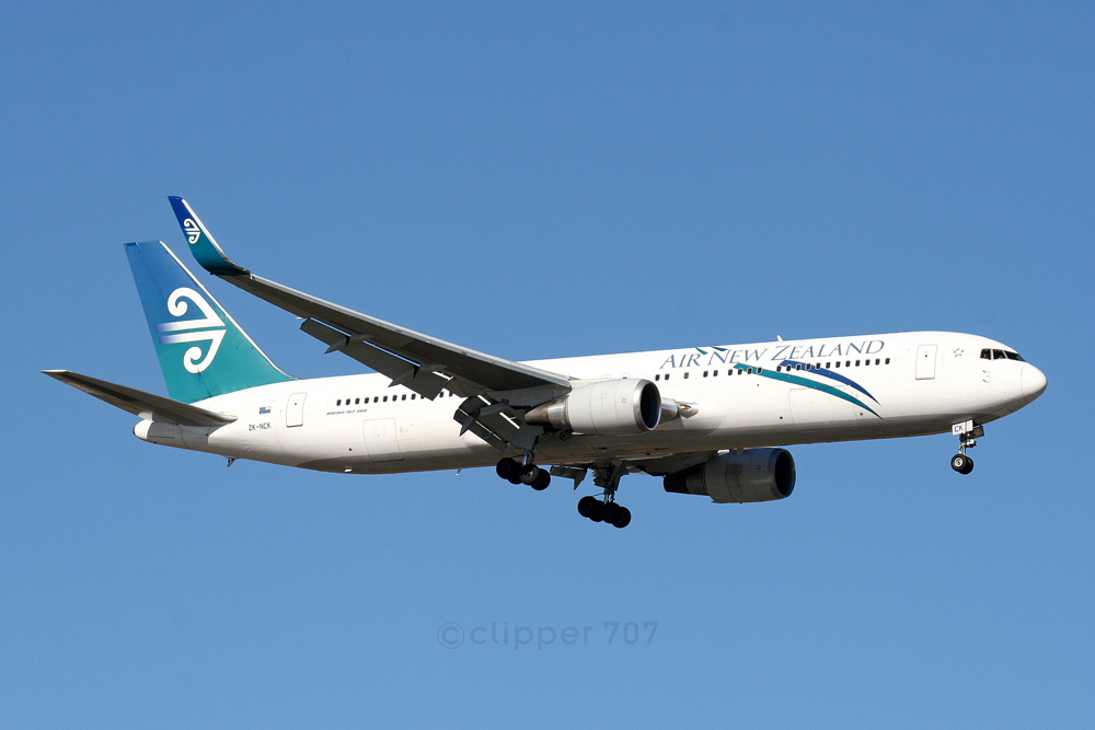 ZK-NCK Air New Zealand Boeing 767-319ER 6140