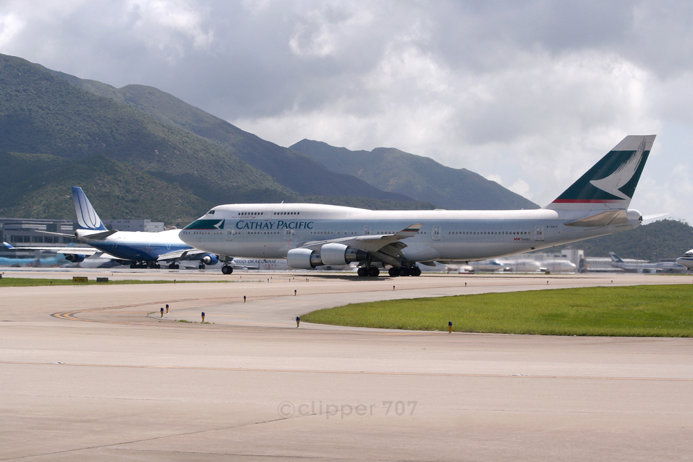 B-HKT Cathay Pacific 747-412 9355-2