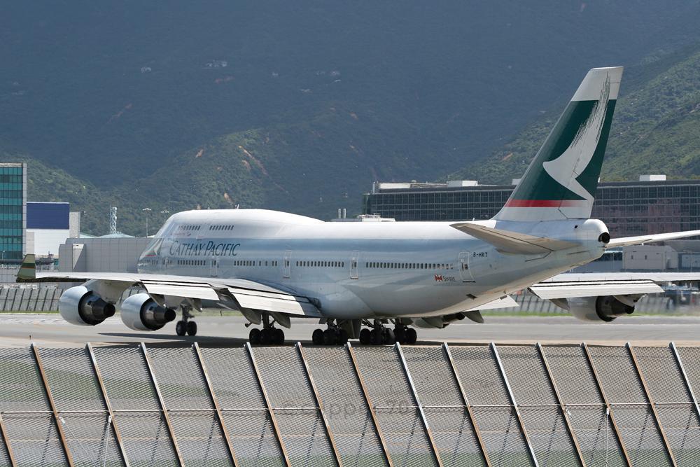 B-HKT Cathay Pacific 747-412 9359-2