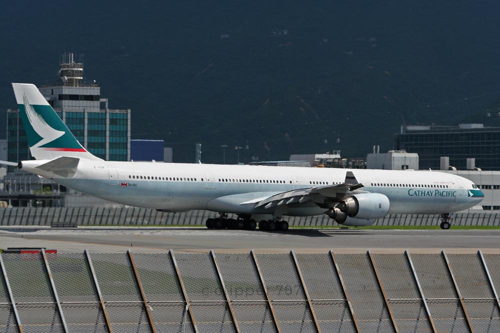 B-HQB Cathay Pacific A340-642 9386