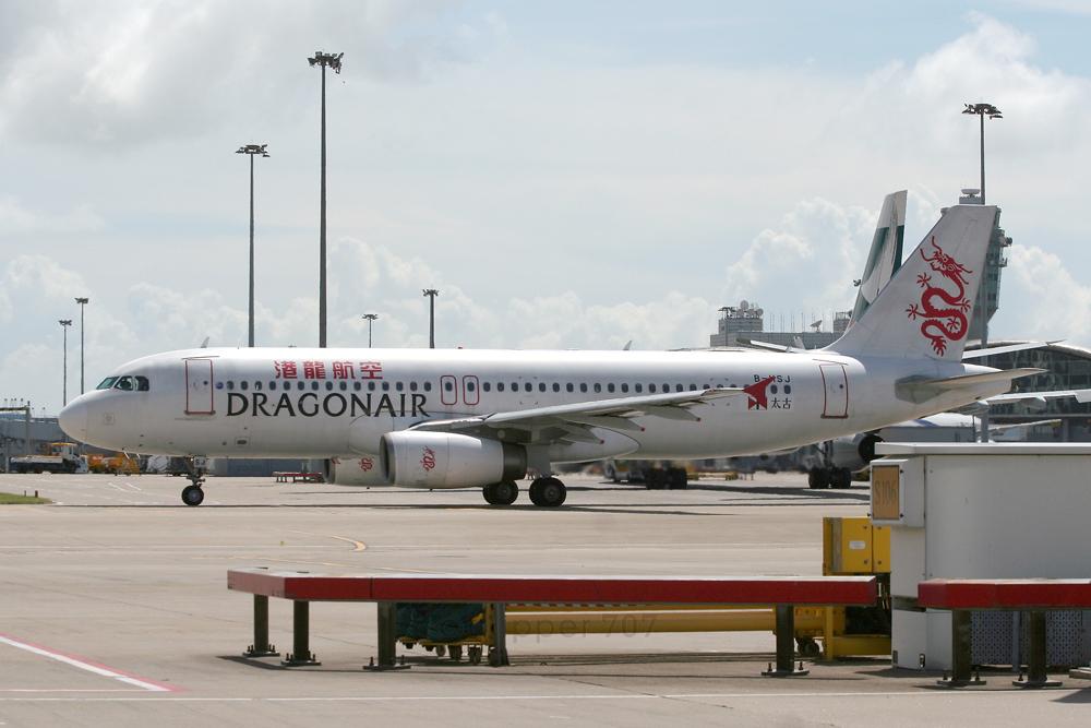 B-HSJ Dragonair A320-232 9358-2