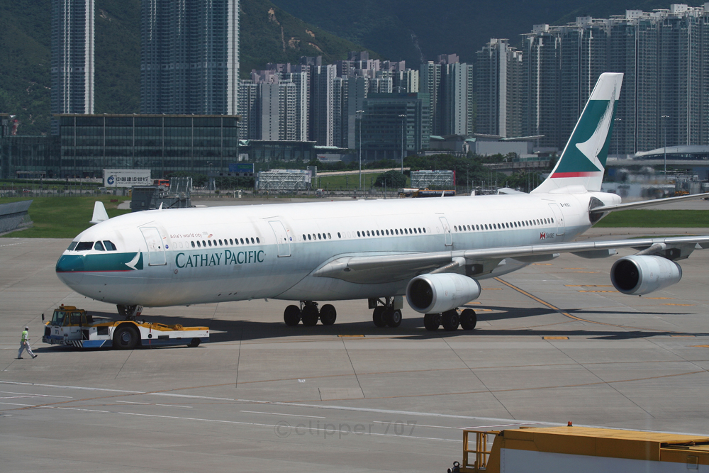 B-HXI Cathay Pacific A340-313X 9347-2