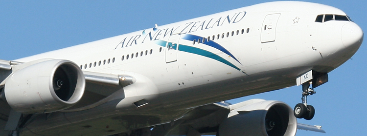 Air New Zealand B777 ZK-OKC